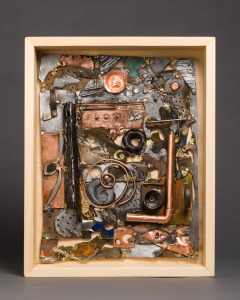 Pipe Dreams, copper, brass, sterling silver, and steel by Beverly Waters