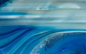 Sea of Surreality, Agate, 40x26in by George Fellner