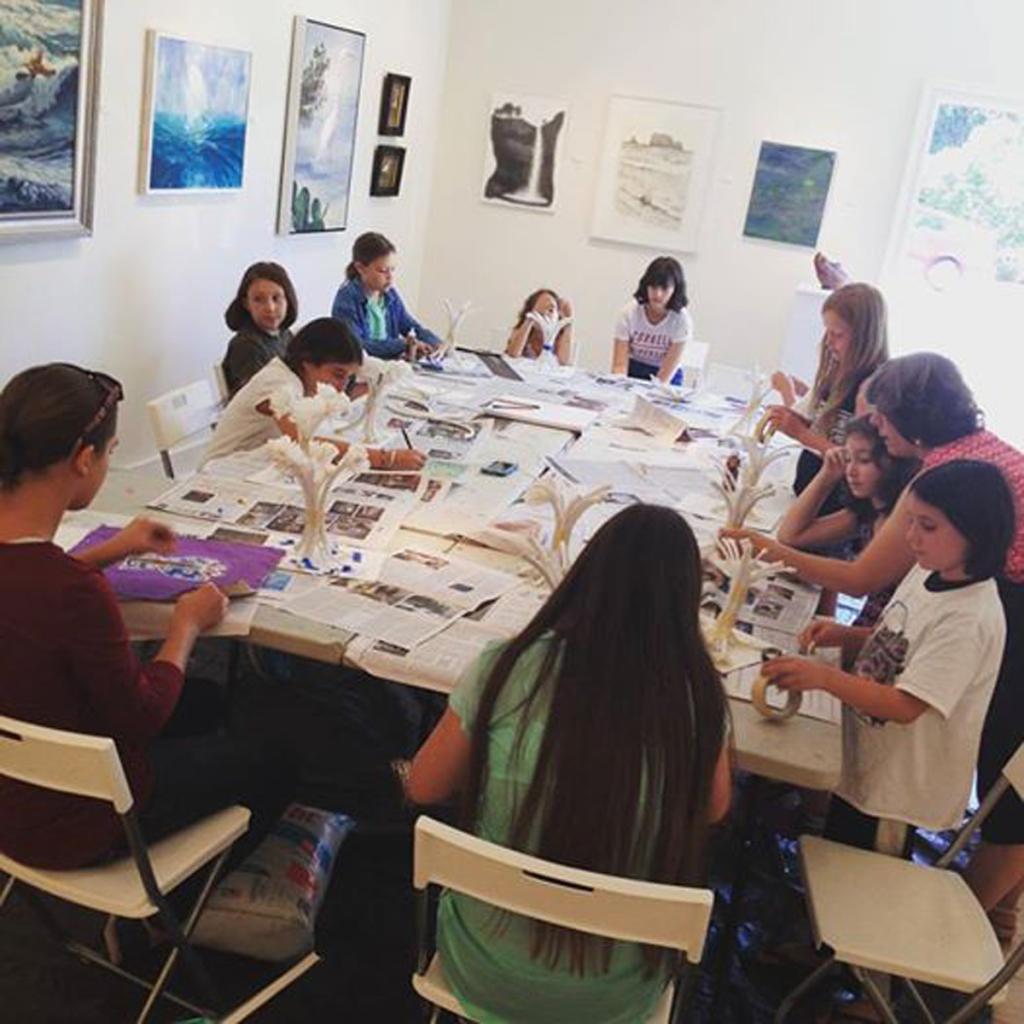 Children's Art Classes at Spectrum Gallery