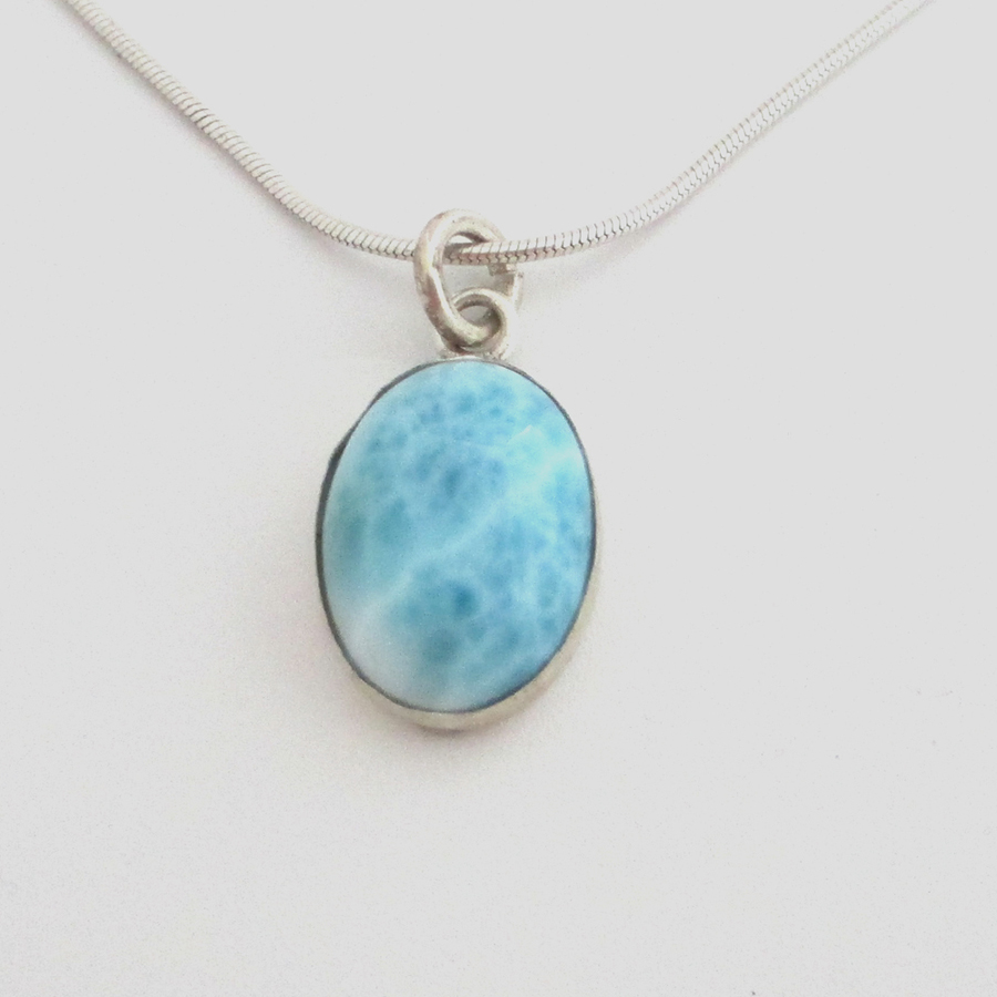 Larimar necklace spectrum gallery aloadofball Image collections
